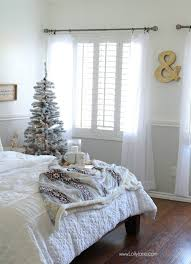 Cozy Christmas Master Bedroom Click To See The Rest Of Space Decked