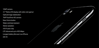 iPhone 7 India Price Features Specs and Launch