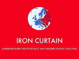Iron Curtain Speech Cold War Definition by Cold War Vocab By Bringmetheblood