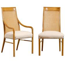 Cane Back Dining Chairs Design Wicker High