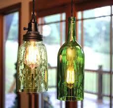 Wine Bottle Pendant Light Images About Lamps On Kit