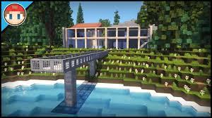 100 Modern Italian Villa Minecraft Amazing YouTube