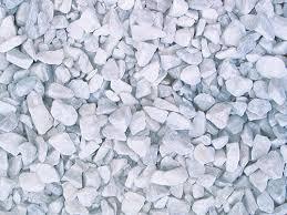 White Marble Quartz Chips For Landscaping