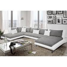 canape gris design canapé panoramique cayen