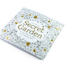 24 Pages Secret Garden English Edition Coloring Book For Children And Adults Stress Buster We Want One