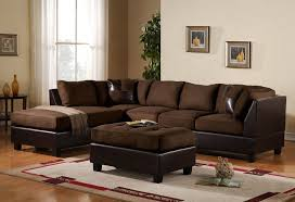 Rustic Charcoal Microfiber Sectional Sofa Covers With Ottoman Charming Outstanding Greta