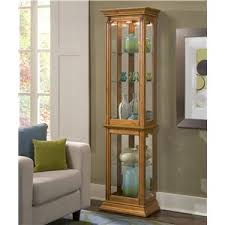 Pulaski Corner Curio Cabinet by Curio Cabinets Ohio Youngstown Cleveland Pittsburgh