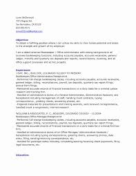 Resume Cover Letter Bookkeeper Sample For Awesome Full