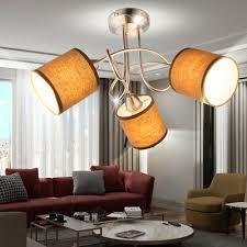 decken le wohnzimmer strahler stoff grau dielen leuchte