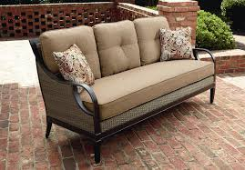 Sears Patio Furniture Cushions by La Z Boy Outdoor Charlotte Sofa Outdoor Living Patio Furniture