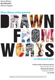 Drawn From Words An Illustrated Show