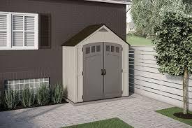 171 cu ft 7 x 4 covington storage shed suncast corporation