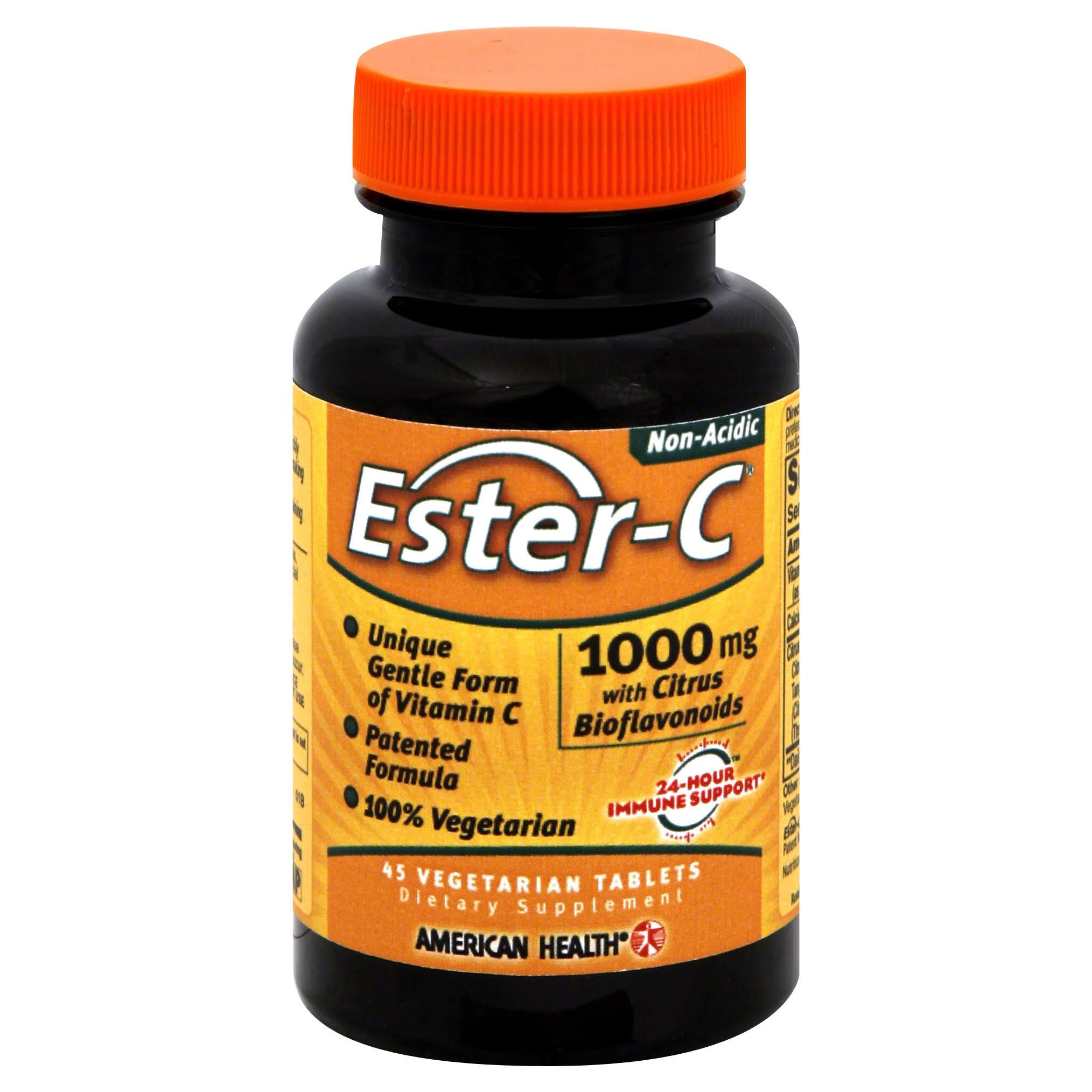 American Health Ester-C - 1000mg, 45 Vegetarian Tablets
