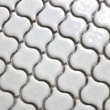 glasierte weiße farbe laterne design keramik mosaik fliesen für wohnzimmer badezimmer dusche fliesen küche backsplash flur kamin
