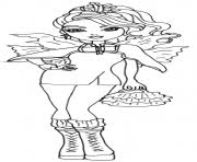Printable Faybelle Thorn Ever After High Coloring Pages