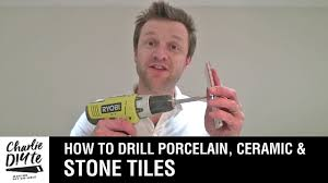 Drilling Through Ceramic Tile by How To Drill A Hole In Porcelain Ceramic Or Stone Tiles