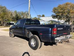 100 Blue Dodge Truck Used 2001 Ram 3500 SLT RWD For Sale Port St Lucie FL