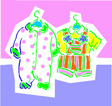 These Incredible Baby Clothes Clipart Pictures Are Created For Those Who Want To Try Their Skills In Designing Related Printed Materials