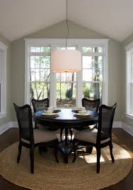 Interior Rugs Under Dining Table Incredible Area Rug Or Not Plus Grey Kitchen Art In