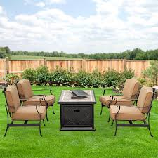 Sams Club Patio Set With Fire Pit by Heirloom Bay Fire Pit Replacement Cushion Set Garden Winds