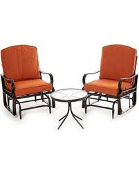 SPECTACULAR Deal on Sag Harbor 3pc Patio Glider Chair Seating Set