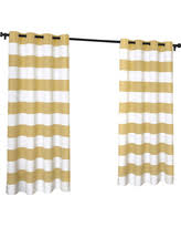 Striped Curtain Panels 96 incredible winter deals on your zone cabana stripe curtain panel