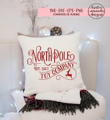 North Pole Toy Company Christmas SVG DXF EPS PNG Cut File O Cricut Silhouette