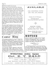 Circus Report, October 31, 1977, Vol. 6, No. 44 Tennessee Traffic Pt 4 Davis Express Truckers Review Jobs Pay Home Time Equipment Florida Truck News Spring 2017 By Trucking Association Issuu Inc Facebook In Lake Butler Ustd July El Periodico Usa Expressstarke Fl Davisexpress Twitter Weekly Clips January 20 Agenda