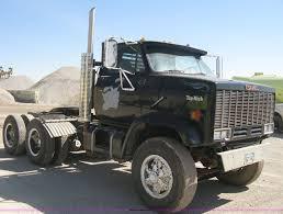 100 Top Kick Truck 1982 GMC Semi Truck Item E3304 SOLD April 25 Co