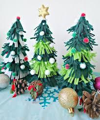 Easy To Make Felt Christmas Trees