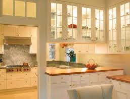renew view in gallery kitchen cabinets with glass doors let in