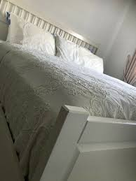 ikea helmes doppelbett schlafzimmer bett ikea