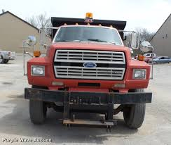 100 1992 Ford Truck F700 Dump Truck Item DP9541 SOLD May 15 Gover