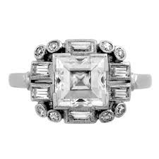 deco square rings 203 best engagement rings images on jewels deco