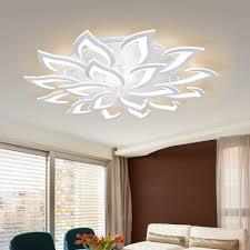 iralan lustre led decke kronleuchter moderne luxus lotus für wohn esszimmer küche schlafzimmer le deco leuchten