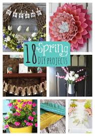 Great Ideas 18 Spring DIY Projects