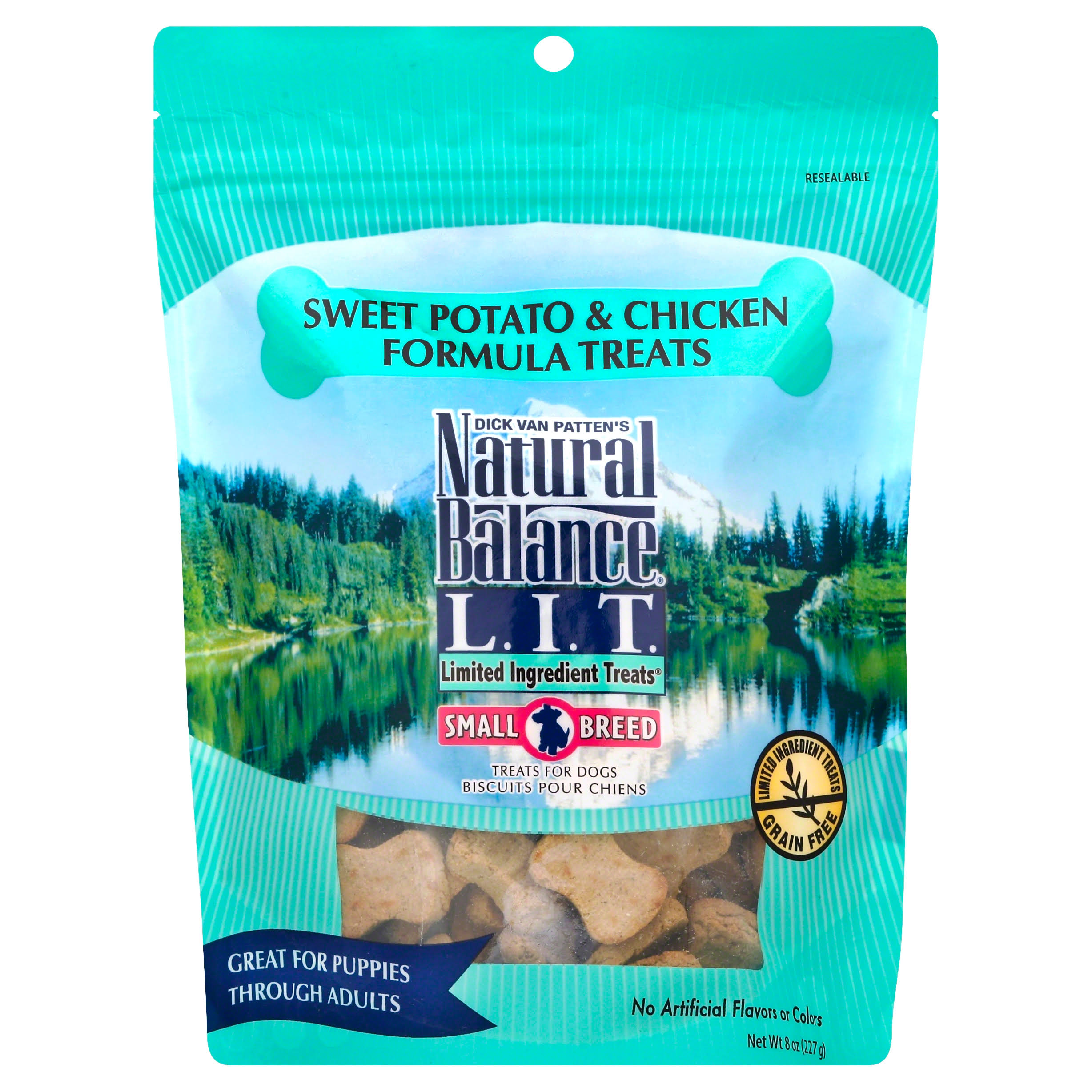 Natural Balance Limited Ingredient Treats - Sweet Potato and Chicken