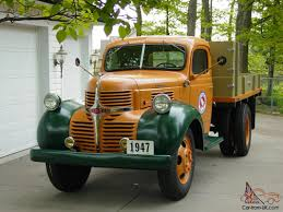1947 Dodge 1.5 Ton Great Northern Railway Maintence Dump Truck ...