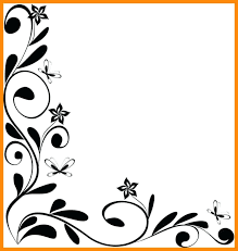 Borders Paper Designs Border Flowers Download Cutting