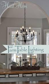 lighting edison pendant light fixture rustic dining room