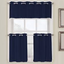 Jcpenney Grommet Kitchen Curtains by Montego Kitchen Curtains