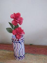 How To Make Flower Vases With Recycled Plastic Bottles