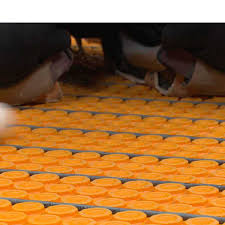 Schluter Heated Floor Manual by Schluter Ditra Heat Uncoupling U0026 Waterproofing Membrane Roll