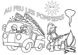 Coloriage Sam Le Pompier à Colorier Dessin à Imprimer Fireman