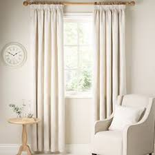 Lined Curtains John Lewis by Buy John Lewis Leaf Trail Lined Pencil Pleat Curtains Stone