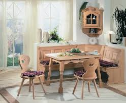 Rustic Booth Style Kitchen Table