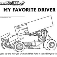Free Coloring Pages Of Mini Sprint Cars Car