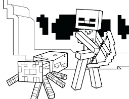 Minecraft Mutant Creeper Coloring Pages Color