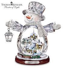 Thomas Kinkade Christmas Tree Train by Animated Snow Globes Collectible Snow Globes It U0027s The Most