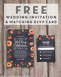 Download And Customize This FREE Whimsical Wedding Invitation Template Then Print As Many Copies